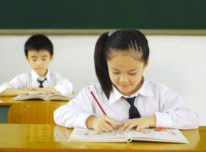 Gia sư luyện chữ đẹp cho học sinh tiểu học tại Hà Nội